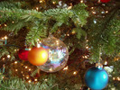 Thumbnail Image Traditional Holiday Christmas Ornaments on Tree - PLR