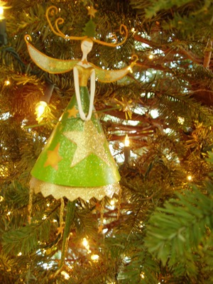 Product picture Image - Mint Green - Warm Christmas Holiday Ornament - PLR