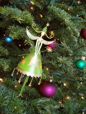 Product picture Image - Whimsical Holiday Christmas Fairy Ornament - PLR